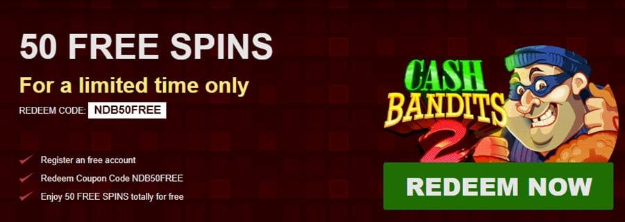 50 No Deposit Grande Vegas