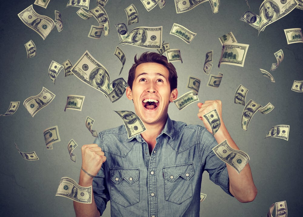 Money winner with the bonus