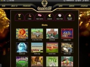 Golden Lion Casino Games