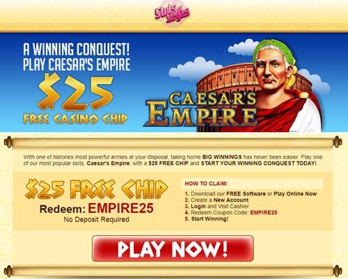Slots Vegas Generic 25 Free Chip