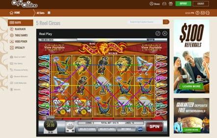 Café Casino Games