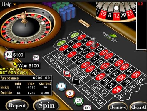 Raging Bull Casino Roulette Online
