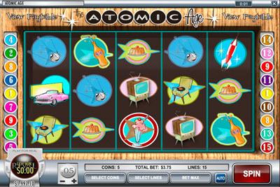 Atomic Age Online Slot