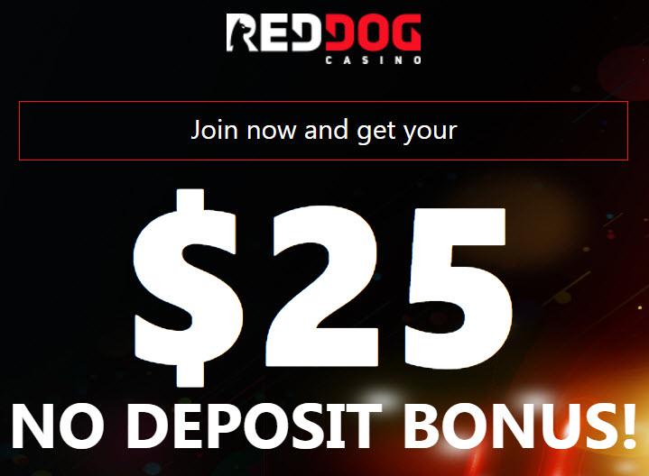 Red Dog Casino No Deposit Bonus Codes 2020 Get 25 Free Spins