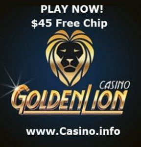 Golden Lion Casino Bonus Codes 2021