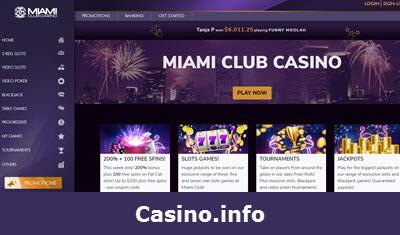 Miami Casino No Deposit