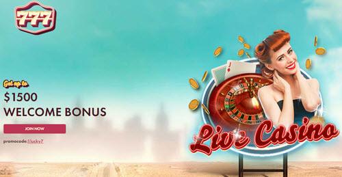 777 Casino Code