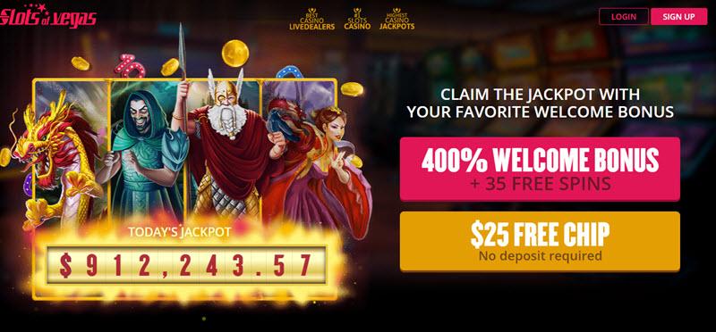 Slots Of Vegas No Deposit Codes 2019