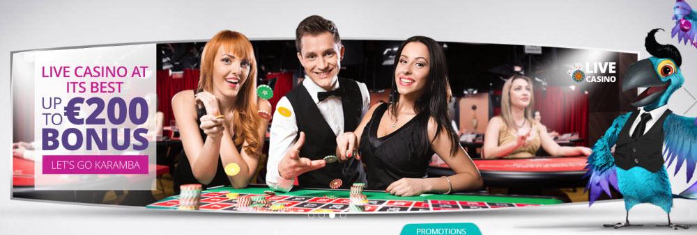 Karamba Casino Live