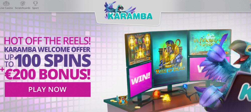 Karamba Casino No Deposit Bonus Codes 100 Free Spins