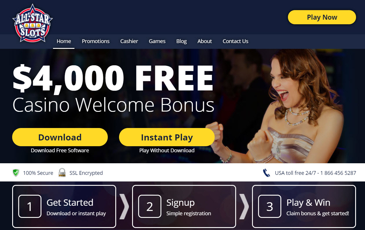 All Star Slots No Deposit Bonus 2019