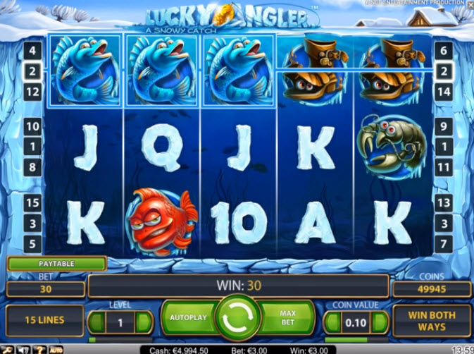Lake Lucky Angler Slot