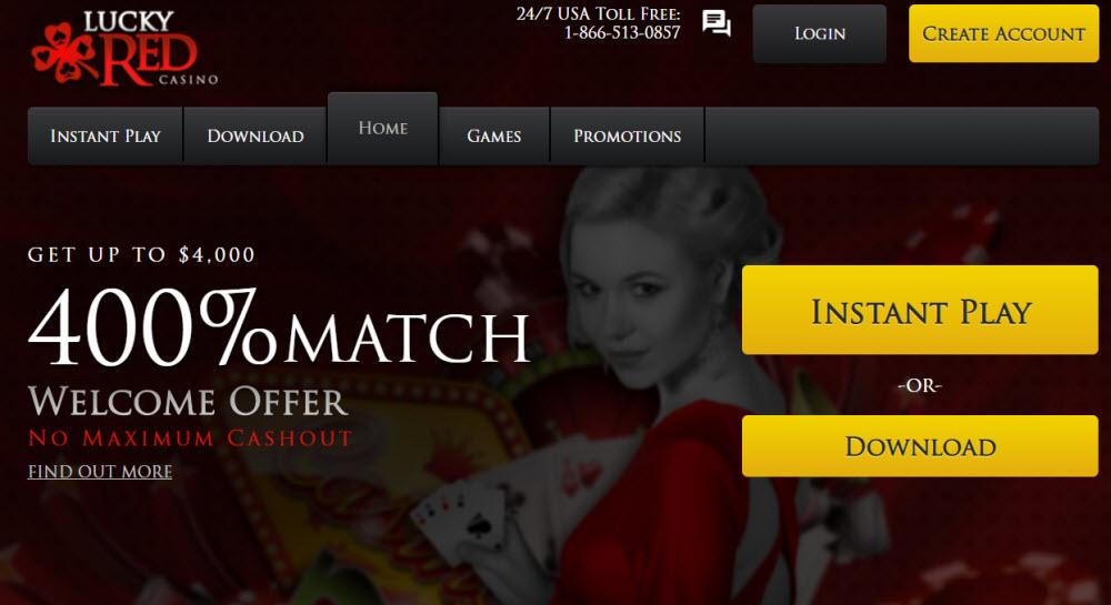 Lucky Red Casino No Deposit Bonus Codes 2020 Get 20 Free Spins