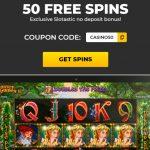 SlotAstic casino 50 free