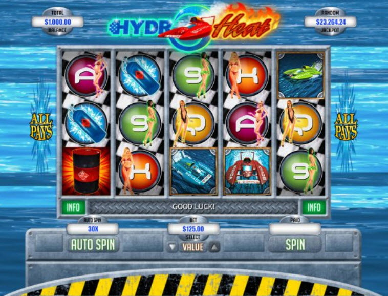 Hydro Heat Slot Game