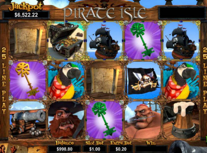 Pirate Isle Slot Game