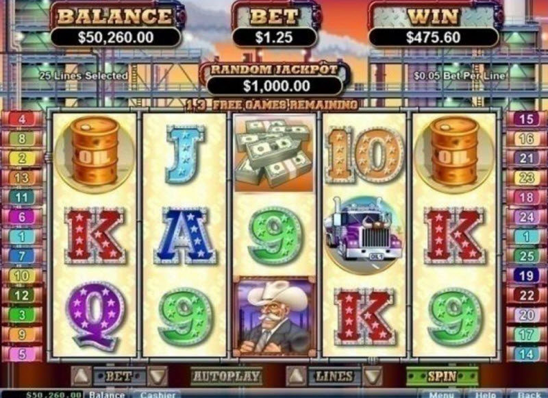 The Texan Tycoon Slot