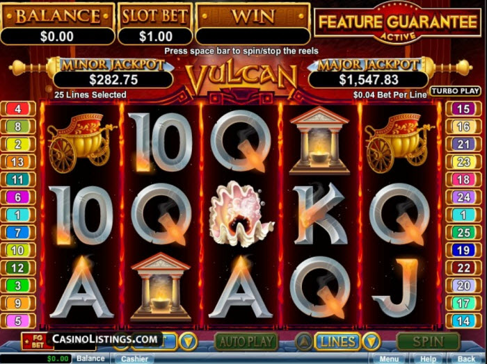 Vulcan Slot Machine