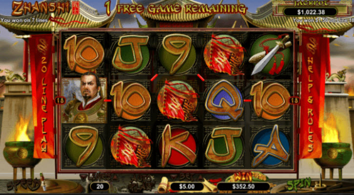 Zhanshi Slot Machine Review