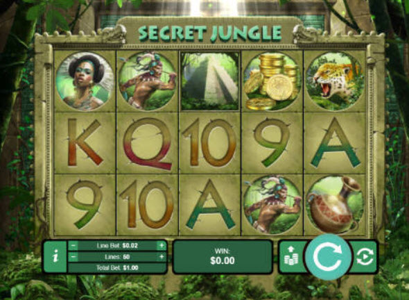 Aztec Secret Jungle Online Slot