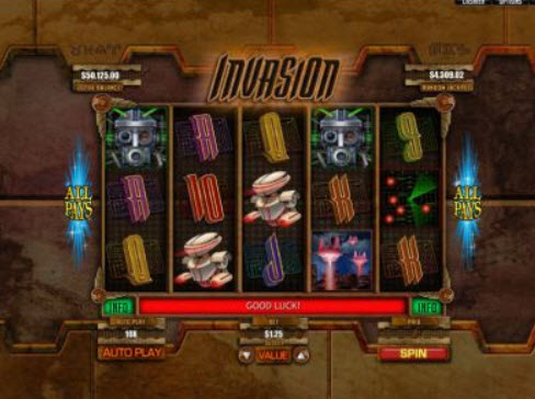 Play Sci Fi Invasion Slot Machine Free With No Download