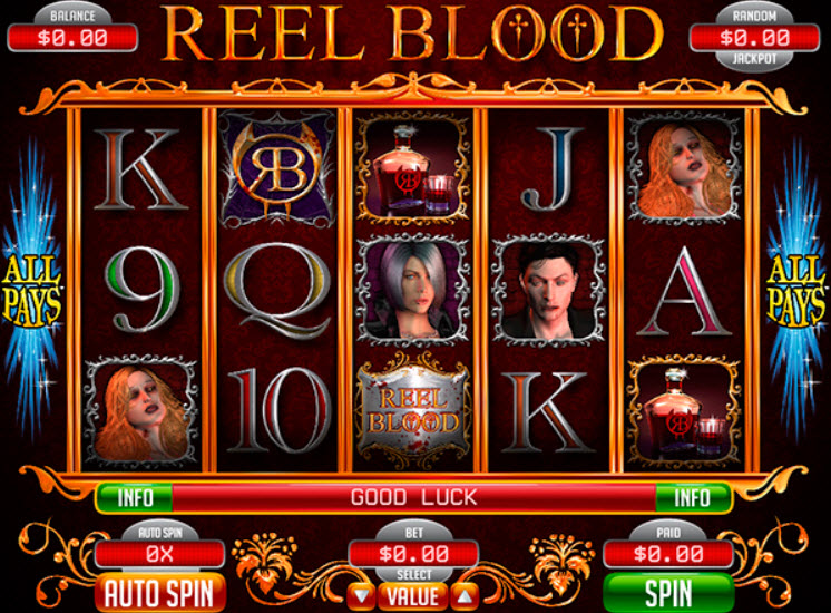 Reel Blood Slot