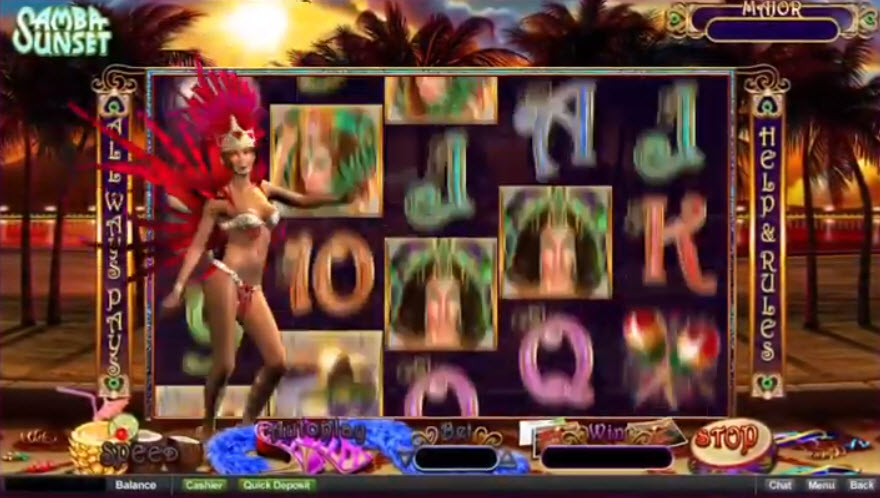 Samba Sunset Slot Machine