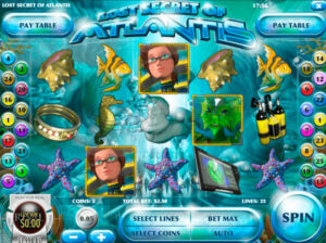 Lost Secret of Atlantis Slot Game