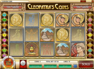 Cleopatra Coins Slot Machine
