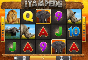 Stampede Slot Machine