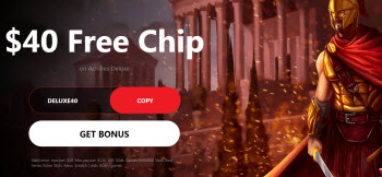 Red Dog Casino no deposit bonus
