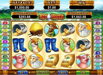 hen house slot machine