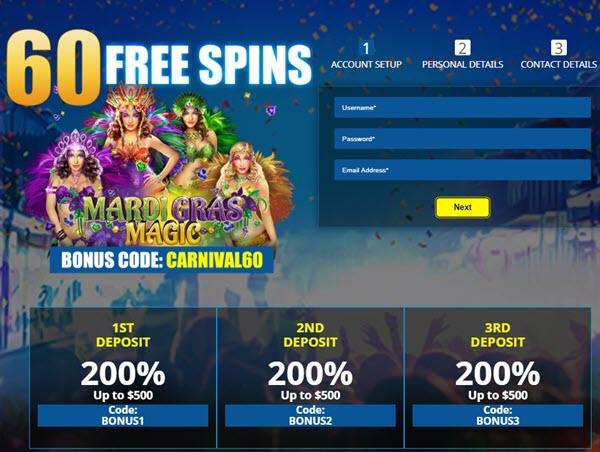 Mardi Gras Magic Slot