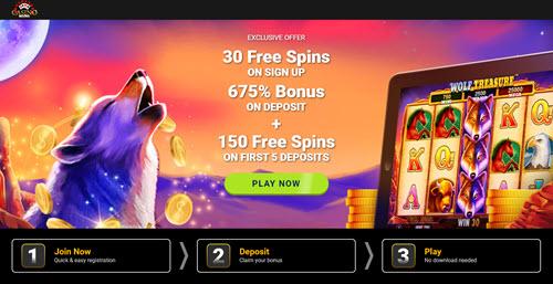 Casino Moons Bonus Code