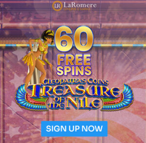 cleopatras-coins treasure of the nile slot